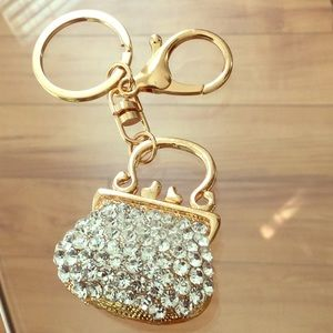 HOST PICK Keychain Handbag jewelry charm w/bling